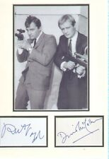 MAN FROM UNCLE (Robert Vaughn & David McCallum) SIGNED AUTOGRAPHS