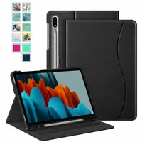 For Samsung Galaxy Tab S7 11 inch 2020 Case Multi-Angle Stand Cover w/Sleep Wake