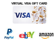 VCC PayPal Verification Card with online card Access $10 Fast Delivery