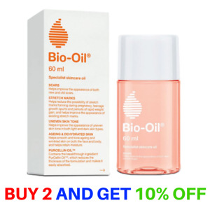 Bio-Oil 60ml For Scars, Stretch Marks, Uneven Skin Tone, Ageing Skin Oil