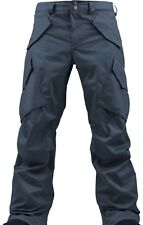 Burton Men Hellbrook Snowboard Pants (L) Quarry