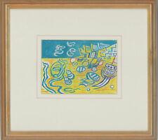 Edward Morgan (1933-2009) - Signed & Framed 20th Century Gouache, Beach Craft