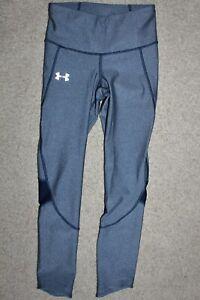 Women Sz XS XSmall UNDER ARMOUR Compression Heatgear Running Yoga Pants Leggings