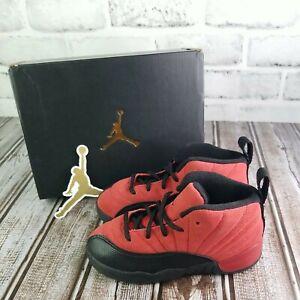 Nike Air Jordan Retro 12 Reverse Flu Game Varsity Red 850000-602 Tod. Sz. 9c