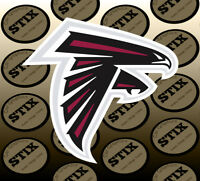 Atlanta Falcons Logo NFL Die Cut Vinyl Sticker Car Window Laptop Wall Decal