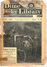 Beadle's Dime New York Library Volume 33 Issue #423 1886