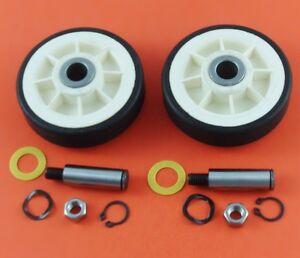 Maytag Dryer Roller Wheel Drum Support Kit 303373K for 12001541 312948   2 Pack