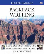 Backpack Writing by Lester Faigley (2011, Paperback)