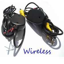 Wireless 2.4Ghz Auto Car Kit Reverse Rear View Camera Video Transmitter Receiver