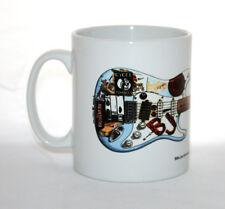 Guitar Mug. Billie-Joe Armstrong's Fernandes Stratocaster 'Blue'