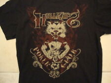 "Lucky Brand Hellkat Hell Kat Poker Club ""U Win Some U Lose Some"" Black T Shirt S"