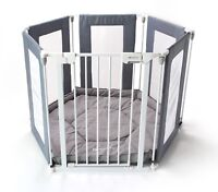 Venture All Stars Baby Playpen 3in1 Mutli-use 6pc's Includes Fitted Mat