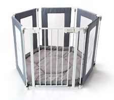 ALL STARS Fabric Baby Playpen | 3in1 Mutli-use | 6pc's | Includes Fitted Mat