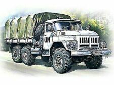 ICM 1:72 scale model kit - ZiL-131, Army Truck  ICM72811