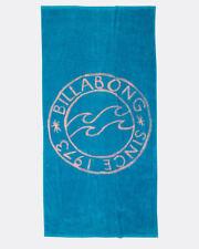 BILLABONG WOMENS BEACH TOWEL.NEW MUST BE LARGE BLUE COTTON SURFER MAT.8S 3 1689