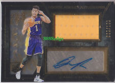 2015-16 BLACK GOLD ROOKIE JERSEY AUTO #2: D'ANGELO RUSSELL #5/199 RC AUTOGRAPH