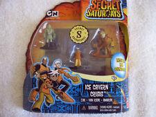 The Secret Saturdays Ice Cavern Crisis Action Figure Pack NIB  T1-3
