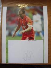"circa 2000's Holland: Arjen Robben - 8""x 10"" Glossy, Reproduction Colour Photogr"