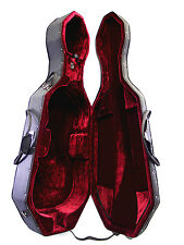 New 3/4 Size Cello Foamed Case with Two wheels / Extra One Rosin <Limited>