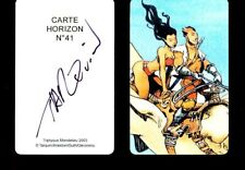 Ex-libris TARQUIN Carte n° 41 signée 50ex-s 5,5x8,5