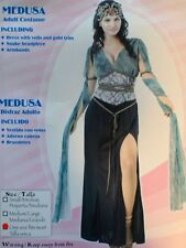 MEDUSA MEDIEVAL LADY ROMAN SEXY WOMANS GIRLS COSTUME 12-14 FREE POSTAGE