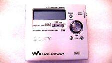 VINTAGE SONY MD MINIDISC WALKMAN RECORDER MZ-R909