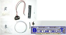 1/18 Flashing LED Police Lightbar Kit for MOTORMAX Brand Models - Do It Yourself