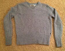 Tommy Hilfger womens sweater, V-neck, light blue~ size large EUC/Very Nice/Tommy