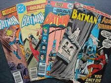US DC – The Brave and the Bold (Batman) – Bronze Age books
