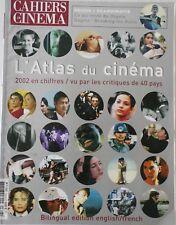 CAHIERS DU CINÉMA Hors série/L'ATLAS DU CINEMA 2002/ÉDITION BILINGUE ANGLAIS