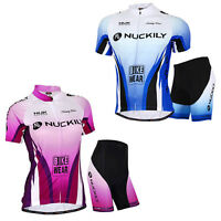 Lovers Bike Short Sleeve Clothing Bicycle Sports Wear Cycling Jersey Shorts Pant