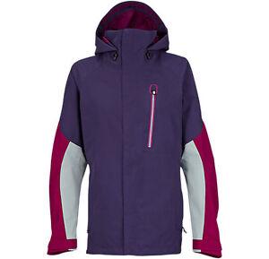 NWT WOMENS BURTON AK 2L ALTITUDE SNOW JACKET $400 purple label poison chill