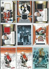 John LeClair  24-Lot Inserts Subset Oddball  w/Jerseys  Lot 1