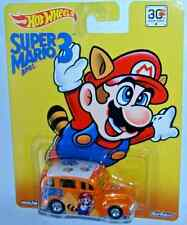 2015 Hot Wheels Pop Culture SUPER MARIO BROS. 3 'School Busted' Real Riders NEW