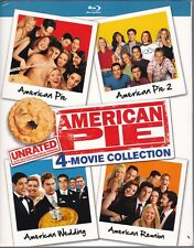 American Pie 4 Movie Collection Blu-ray 1 2 Wedding Reunion Unrated R Rated NEW