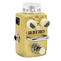 Hotone Skyline Golden Touch Overdrive Effect Pedal Golden Touch SOD-3