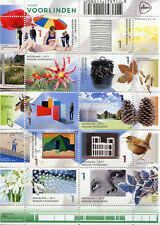 Netherlands 2017 MNH Museum Voorlinden Man Ray 10v M/S Birds Flowers Art Stamps