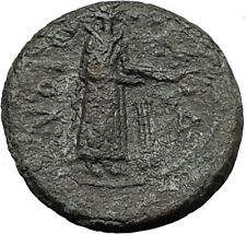 KATANE in SICILY 339BC Apollo Aphrodite Dove RARE R1 Ancient Greek Coin i58821