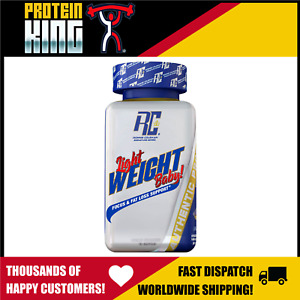 RONNIE COLEMAN LIGHT WEIGHT BABY 60 CAPS FOCUS + FAT LOSS SUPPORT SHRED BURNER