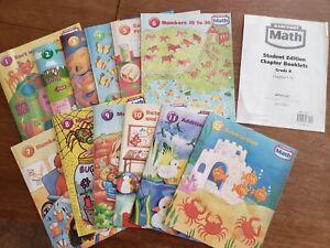 Harcourt Kindergarten Math Entire Curriculum Booklets 1-12 Homeschool Grade K