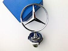 More details for 3d mercedes benz zinc alloy front hood ornament emblem badge car logo 44mm
