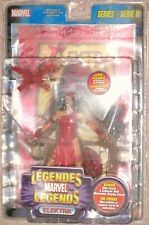 ToyBiz Marvel Legends Series 4 Electra with Mini Poster MOSC