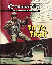 Commando For Action & Adventure Comic Book Magazine #1065 FIT TO FIGHT