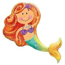 38-Inch Merry Mermaid Shaped Balloon