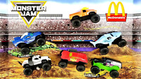 2018 McDonald's Monster Jam Happy Meal Toys SEALED Pick Your Favorite Toy!