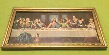 Vintage ~ Religious Art ~ The Last Supper ~ De Vinci