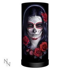 Nemesis Now Sugar Skull Lamp James Ryman 27.5cm Boxed Gothic Alternative