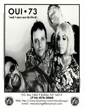Oui 73 Band Promo Photo Buffalo Ny We Princess S*x Bullets Fire Engines