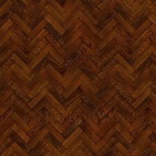 Pack Of 5 Dolls House Parquet Flooring 9 Inch Cocoa Colour Oak Strip Effect Shee