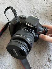 Canon EOS Rebel t6 dslr camera lenses and bag